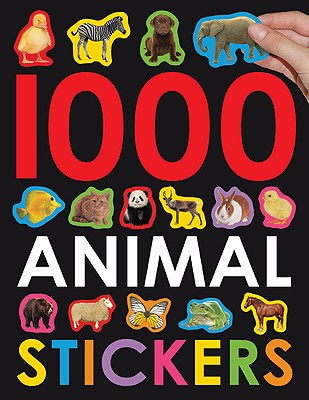 1000 Animal Stickers By Priddy Bicknell Books (COR)